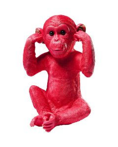 MONEY BOX MONKEY KIZAZARU RED