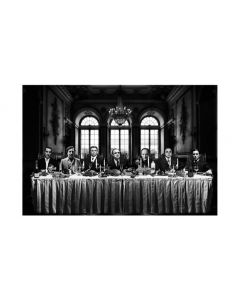 GANGSTERS LAST SUPPER 120x180CM
