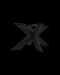 ONDERSTEL 3D 140X90CM BLACK METAL