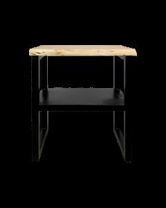 SIDE TABLE LIV BLACK - ACACIA 60CM