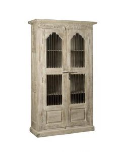 CABINET OPEN INDIA 2 DRS WHITE WASH