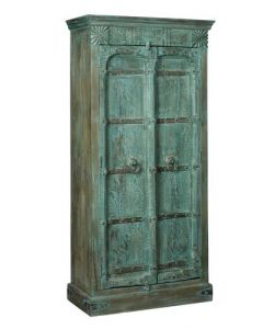 CABINET INDIA BLUE/GREEN 2 DRS