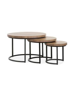 COFFEE TABLE S/3 LAMILUX