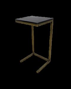READ TABLE 35x30x65CM BLACK-GOLD